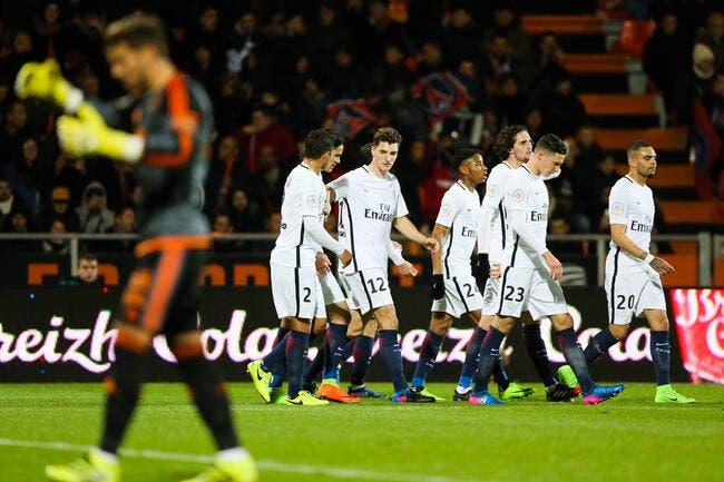 L1 : Trois points qui font du bien pour le PSG à Lorient