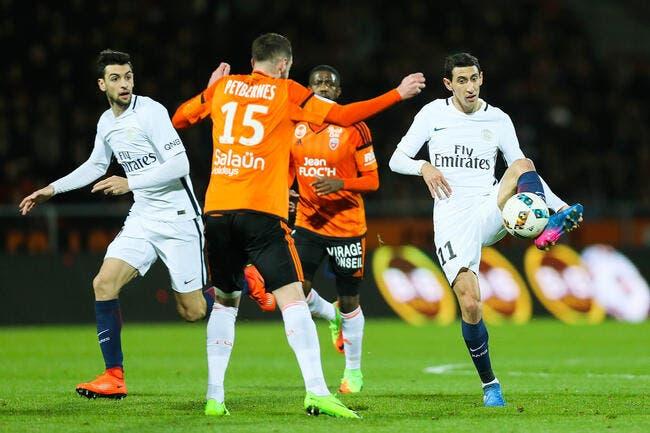 Lorient - PSG : 1-2