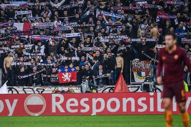 Rezultate imazhesh për roma lyon fans