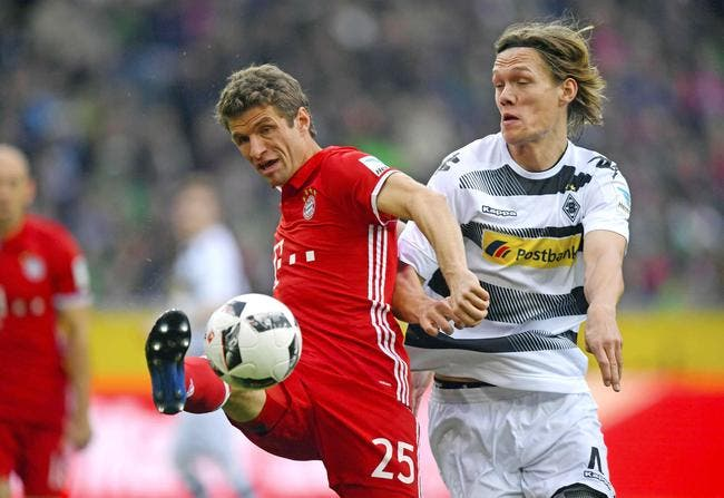 Borussia M'Gladbach - Bayern Munich : 0-1