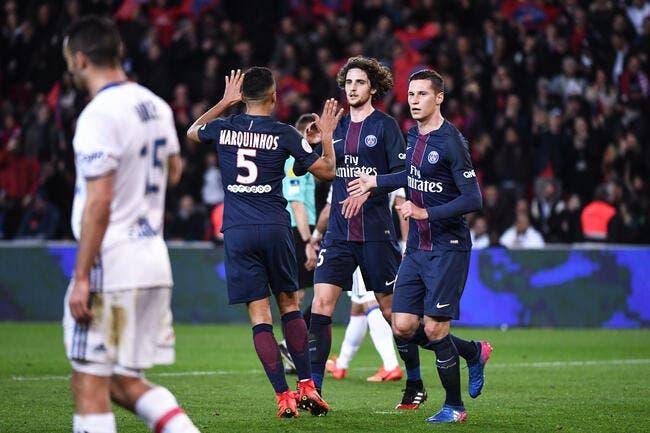 L1 : Le PSG renverse l'OL et garde Monaco dans le viseur