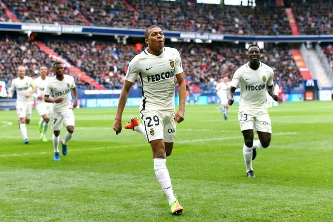 Mbappé en état de grâce, Monaco s'amuse à Caen