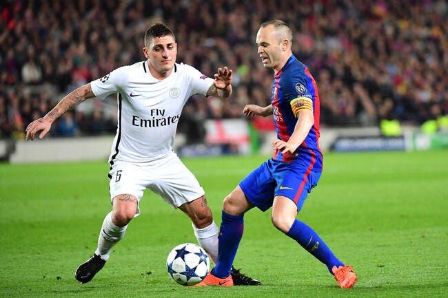 PSG : Le Barça repart à la chasse pour Verratti au mercato