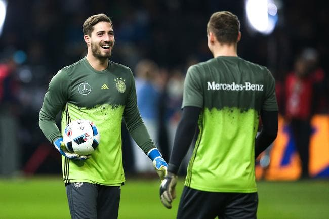 Kevin Trapp remplace Manuel Neuer, forfait — Allemagne