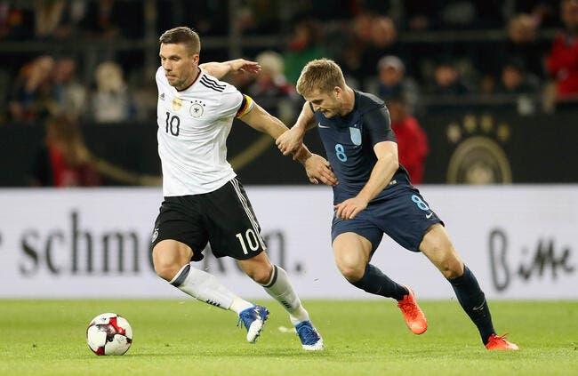 Amical : Pour sa dernière, Podolski fait gagner l'Allemagne