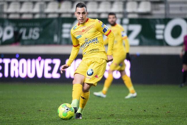 Mercato: Trois clubs de L1 sur la révélation d'Orléans, Mickaël Barreto