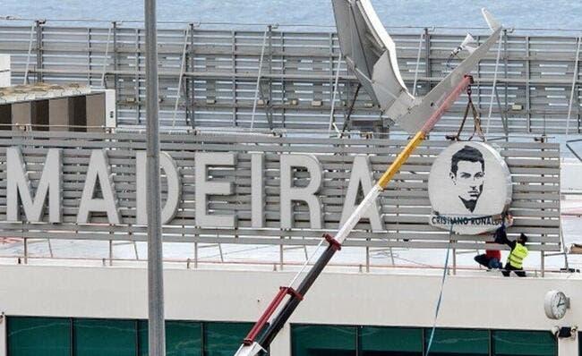 Et maintenant, l'aéroport Cristiano Ronaldo !