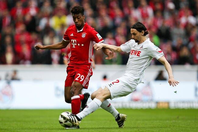 Bayern Munich : Option d'achat levée pour Kingsley Coman
