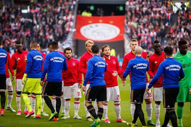 OL - Ajax : les compos (21h05 sur bein SPORTS 1 et W9)
