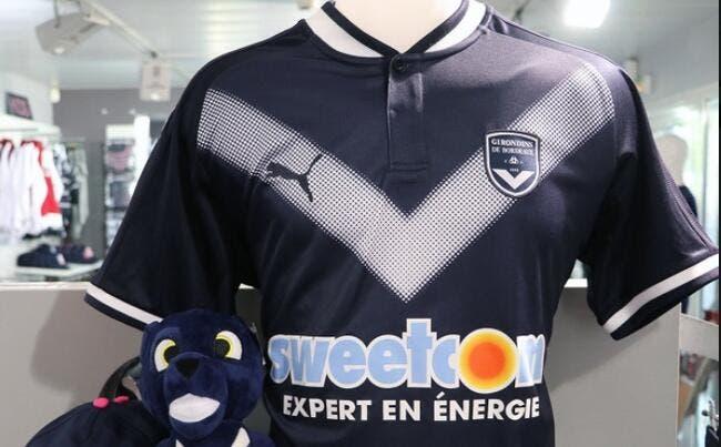 Le nouveau maillot domicile des Girondins dévoilé