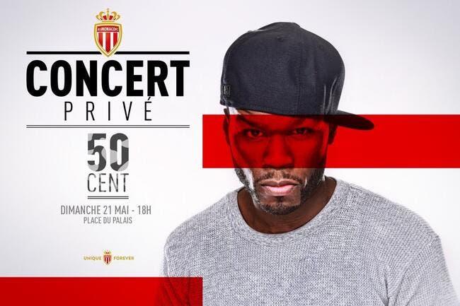 France: Monaco fêtera son titre avec 50 cent