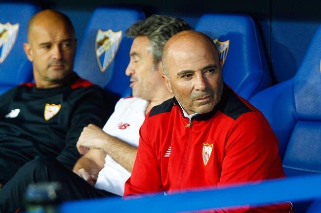Séville: Sampaoli confirme qu'il veut partir