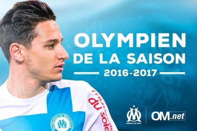 Foot om om thauvin joueur de la saison 2016 2017 ligue 1 foot 01 - Date des saisons 2016 ...