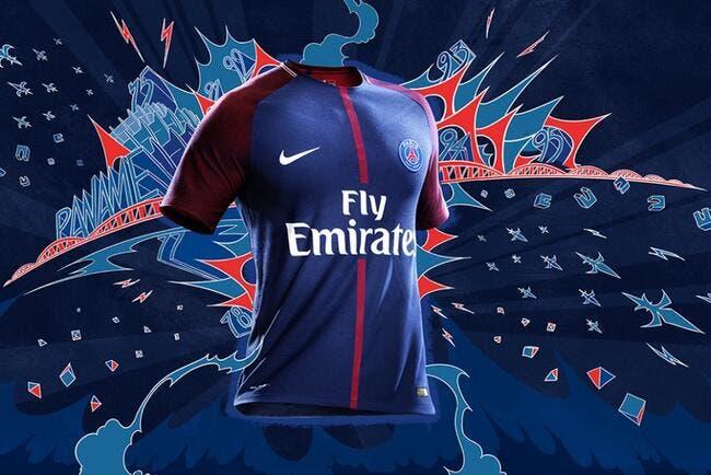 Les photos du maillot PSG domicile 2017