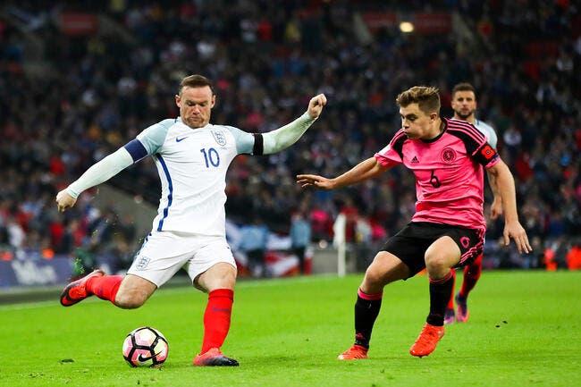 La liste pour affronter la France — Angleterre