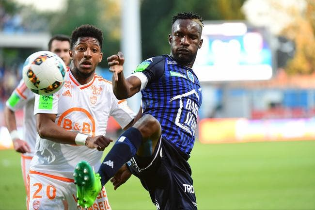 Lorient : « On prend des buts de merde », Moukandjo pète un câble