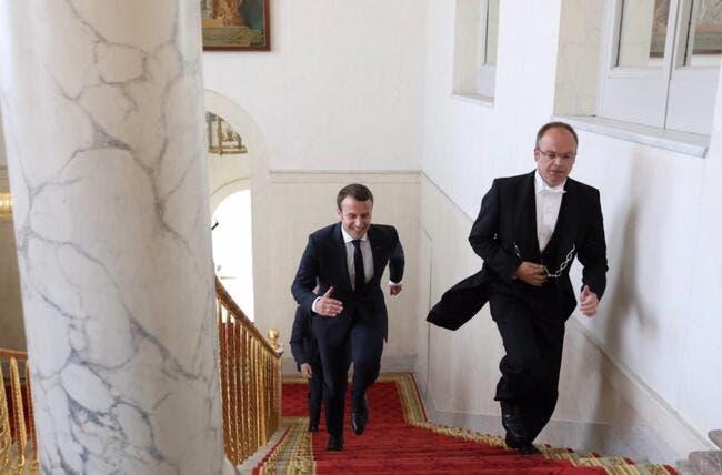 PSG-SCO : Macron ne craint pas les sifflets du Stade de France