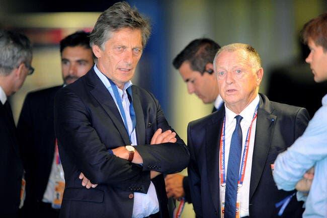 CdF : De Tavernost et Aulas dans le kop des supporters du PSG