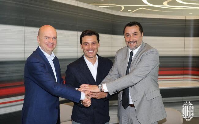 Officiel : Vincenzo Montella prolonge jusqu'en 2019 au Milan AC !
