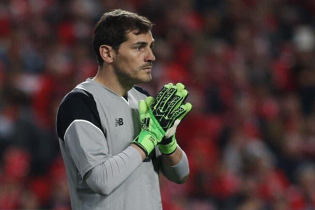 La légende Casillas proche du PSG — PSG
