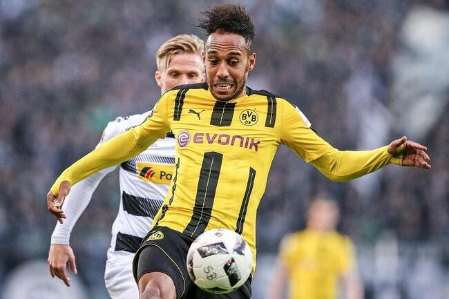 PSG : Accord à 70ME entre le PSG et Dortmund pour Aubameyang !