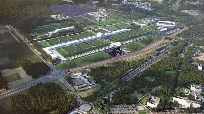 Paris dévoile son futur centre d'entraînement et ça promet — PSG