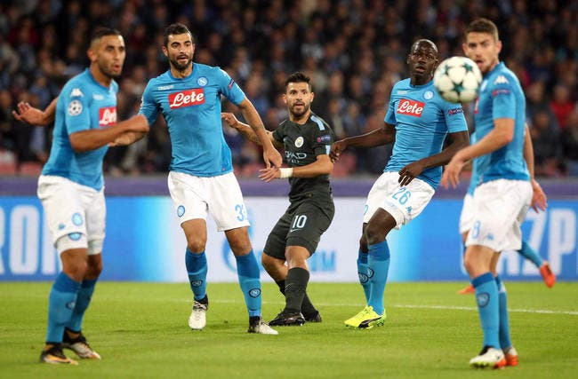 Naples - Manchester City : 2-4