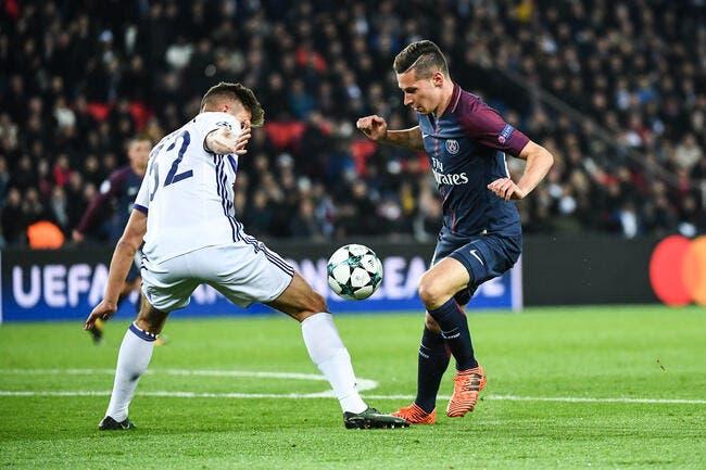 PSG : Draxler milieu relayeur, Rothen applaudit Emery