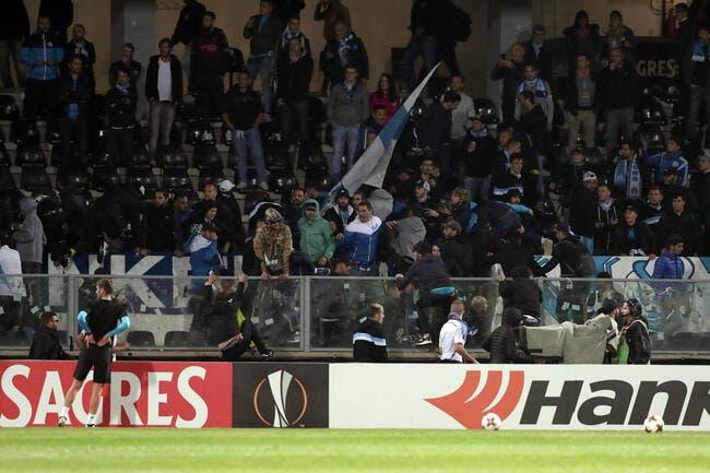 Des banderoles anti-Evra au Vélodrome — OM