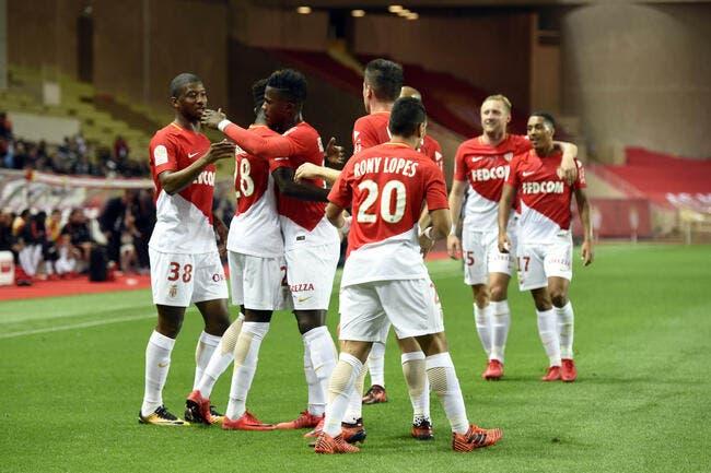L1 : Monaco pulvérise Guingamp, Nantes tient la cadence