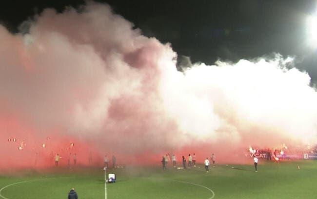 Vidéo : Enorme ambiance à Lyon avant le derby ASSE-OL