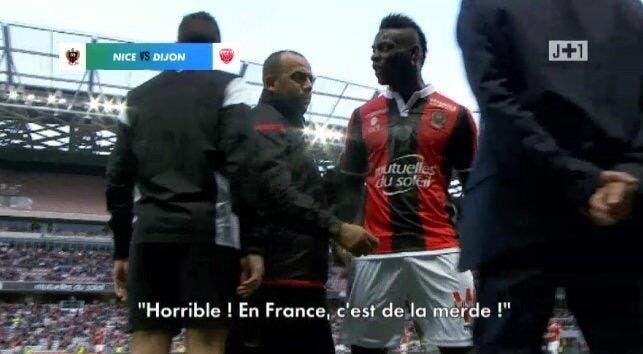 OGCN : «En France c'est de la merde»,  Balotelli fait moins de bruit qu'Ibrahimovic