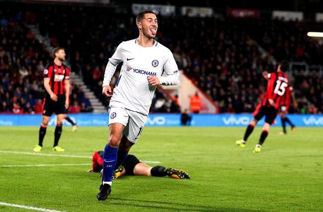 Hazard se lâche sur son «rêve» de rejoindre Zidane