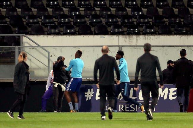 OM : L'UEFA met un high kick à Evra