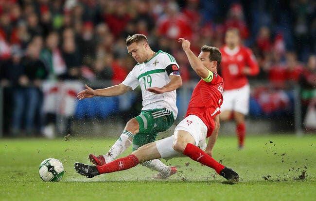 Suisse - Irlande du Nord : 0-0