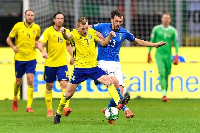 Italie - Suède : 0-0