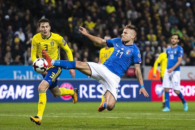 Italie - Suède : Les compos (20h45 sur Canal+ Sport)