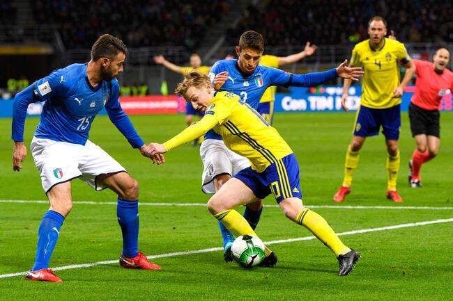 L'Italie en larmes, la Suède ira au Mondial en Russie !