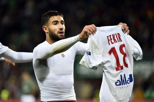 L1 : Nabil Fekir élu joueur du mois d'octobre en Ligue 1