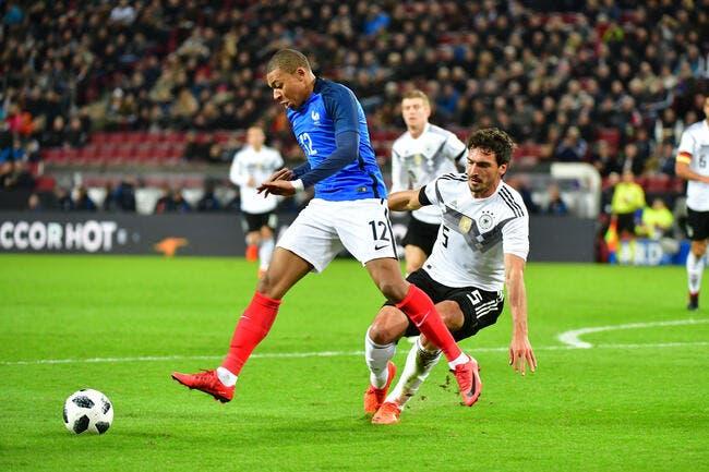 Allemagne – France 2-2
