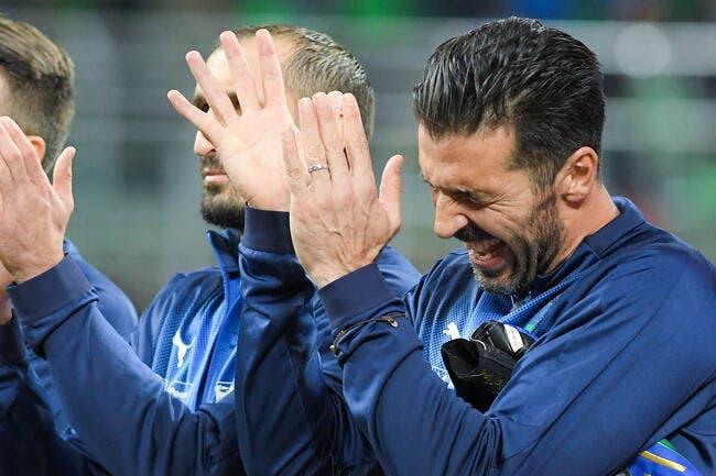 Italie: Pour Buffon et trois ténors, c'est finito
