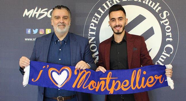 Officiel: Kilian Sanson prolonge à Montpellier