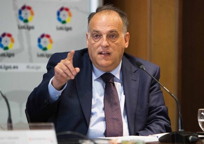PSG: Tebas annonce sa double stratégie pour faire tomber le PSG