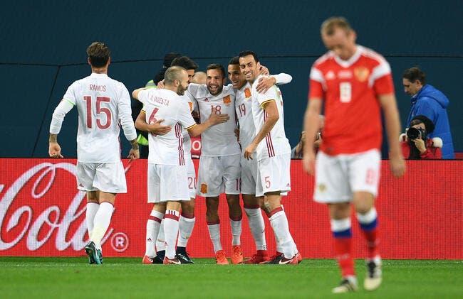Russie - Espagne 3-3