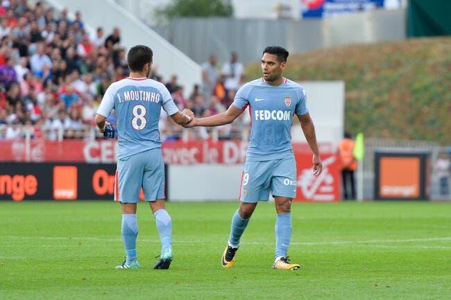 Monaco : Falcao et Moutinho incertains contre Amiens