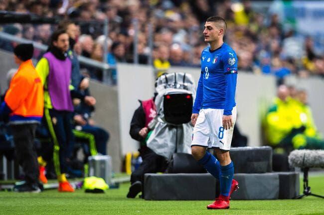 PSG : Pour l'Italie, Verratti est un grand joueur dans les petits matchs