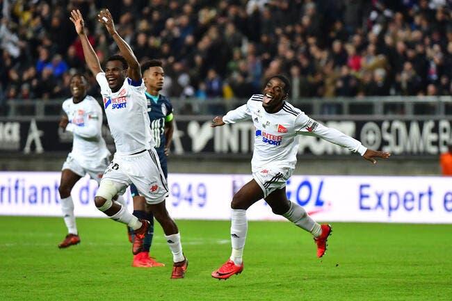 L1 : Lille tombe de haut à Amiens