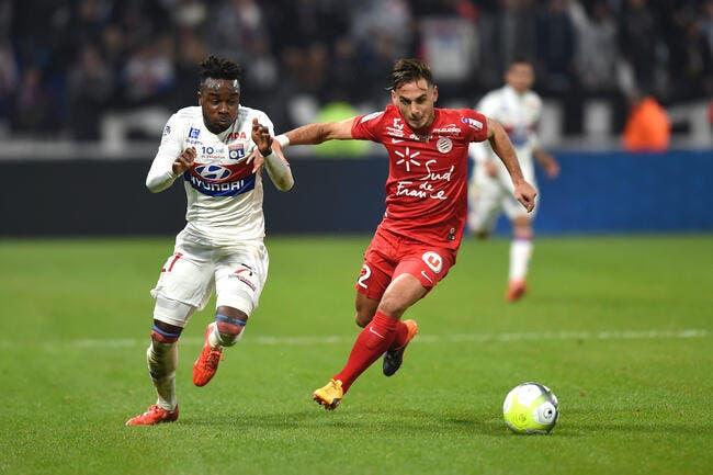 OL : Pierre Ménès effaré devant le match en bois de Cornet
