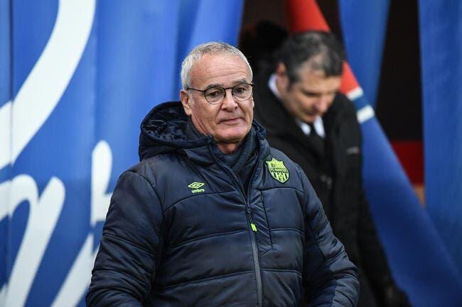 FCN: Ranieri l'avoue, Nantes ne fera pas une Leicester à cause du PSG
