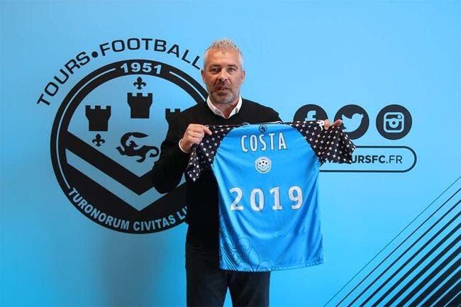 L2 : Jorge Costa nommé entraîneur du Tours FC